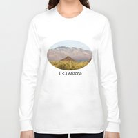the national Long Sleeve T-shirts featuring Saguaro National Park by Chris Root