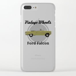 Vintage Wheels: Ford Falcon Clear iPhone Case