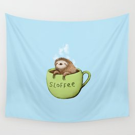 Hot Sloffee Wall Tapestry