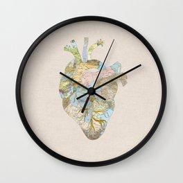 A Traveler's Heart (N.T) Wall Clock