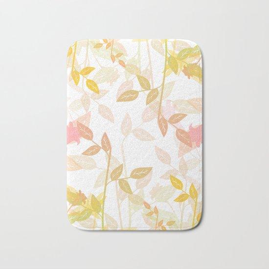 Nature Leaves Bath Mat