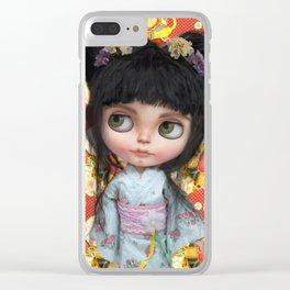 Japanse Girl by Erregiro Clear iPhone Case