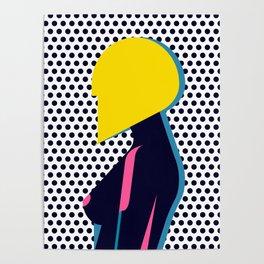 Hairdo Composition VI Poster