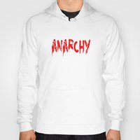 sons of anarchy Hoodies featuring ANARCHY by lucborell