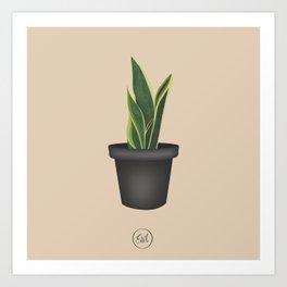 Plantified Art Print