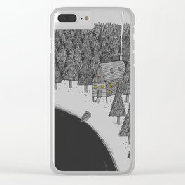 'Isolation' Clear iPhone Case