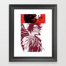 Sea of Red Framed Art Print