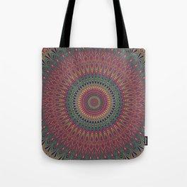 Autumn Star Mandala Tote Bag