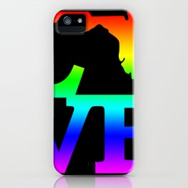 Florida Pride USA State Love Map iPhone Case