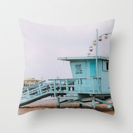 Lifeguard Off Duty Throw Pillow