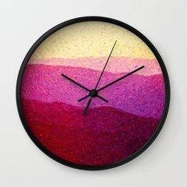 Shenandoah Sunrise Wall Clock