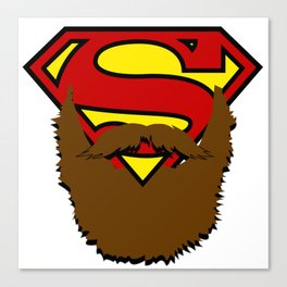 SUPERBEARD Canvas Print