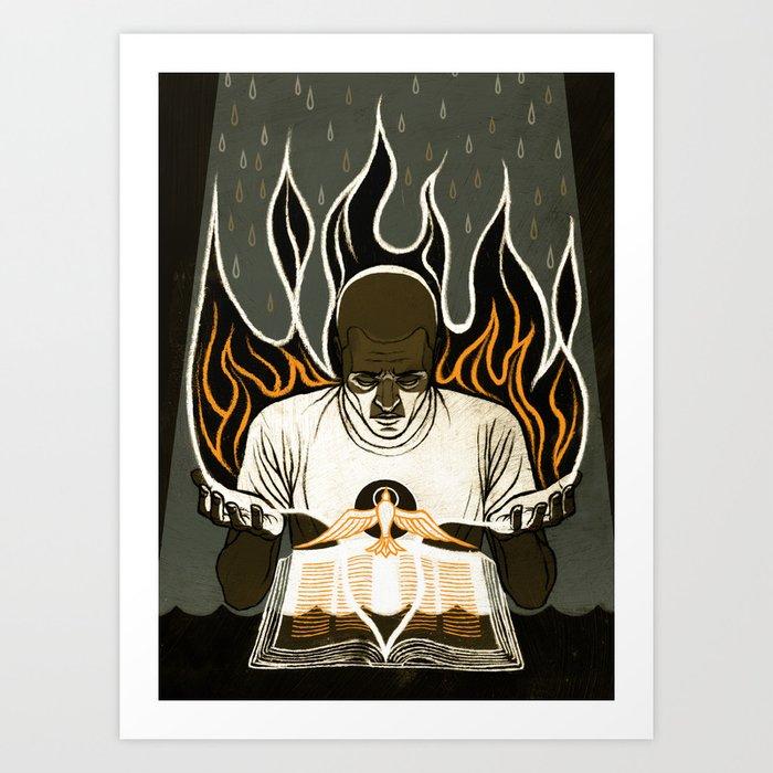 Exult in Tribulation Art Print