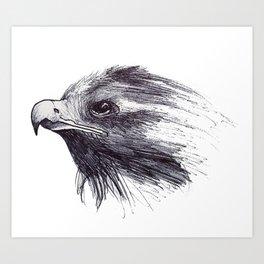 Black Bird / Crow Art Print