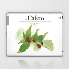 el Cafeto (coffee plant) Laptop & iPad Skin