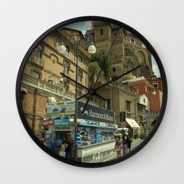 Sorrento Street kiosk  Wall Clock