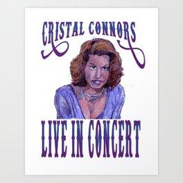 Cristal Connors Art Print