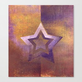 Suprematist Star II Canvas Print