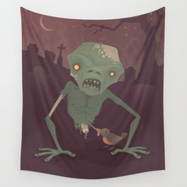 Sickly Zombie Wall Tapestry