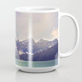Breathe, Exhale, Repeat Coffee Mug