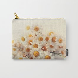 daisies on a stool Carry-All Pouch