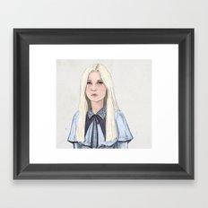Fleur Delacour Framed Art Print