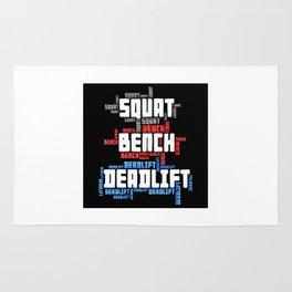Squat Bench Deadlift Rug