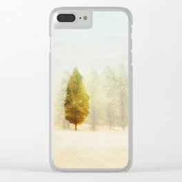 All Alone Clear iPhone Case