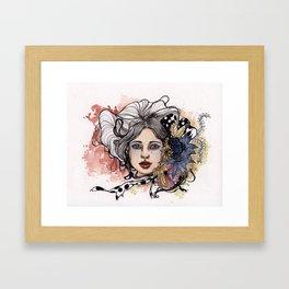 """Bella"" Framed Art Print"