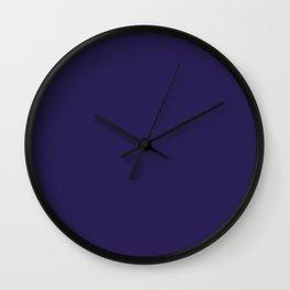 Midnight at Port Gore Wall Clock