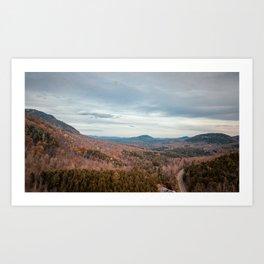 Adirondack Landscape Art Print