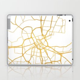 NASHVILLE TENNESSEE CITY STREET MAP ART Laptop & iPad Skin