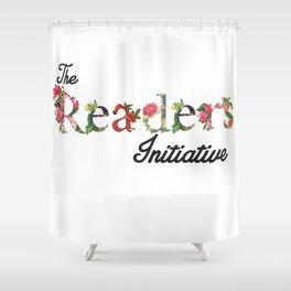 The Readers Initiative Shower Curtain