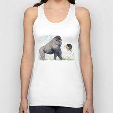 Hug me , Mr. Gorilla Unisex Tank Top