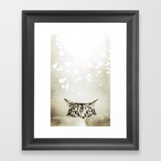 Cat's Eyes - for iphone Framed Art Print