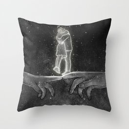 The hope of peace. Throw Pillow