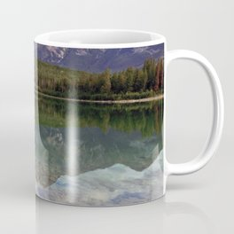 Patricia Lake Jasper Alberta by Maureen Donovan Coffee Mug