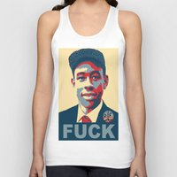 tyler the creator Tank Tops featuring Tyler The Creator Hope Poster by Misadventures