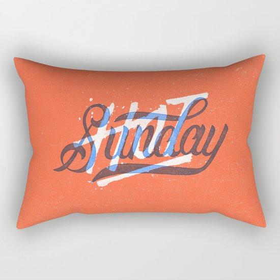 Hot Sunday Rectangular Pillow