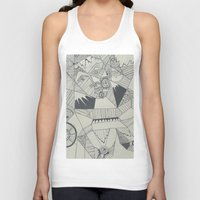 naked Tank Tops featuring Naked by Annemiek Boonstra