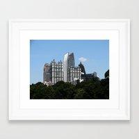 atlanta Framed Art Prints featuring Atlanta by BrandonAddisArt