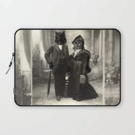 Mr Wolf & Lil Red Laptop Sleeve