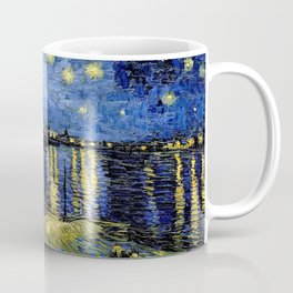 Van Gogh Starry Night Over the Rhône Coffee Mug
