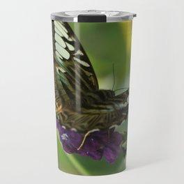 Blue Clipper Butterfly 2 Travel Mug