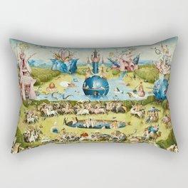 Heironymus Bosch - The Garden Of Earthly Delights Rectangular Pillow