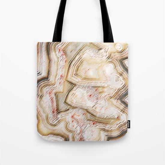 Marble Natural Tote Bag