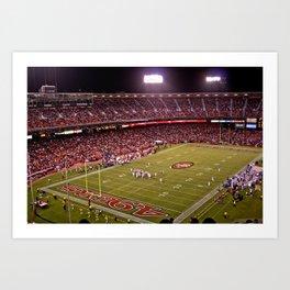 Candlestick Park 49ers Art Print