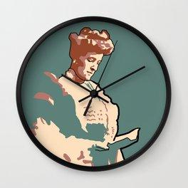 Edith Wharton Wall Clock
