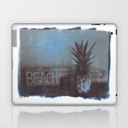 pineapple beach Laptop & iPad Skin