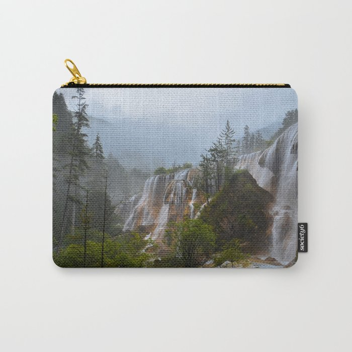 waterfall #society6 Carry-All Pouch